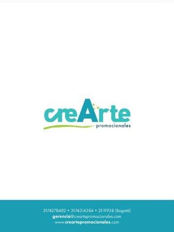 Catálogo CreArte 2016