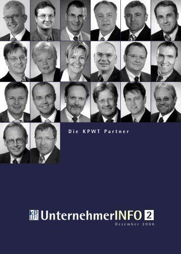 und Bilanz - optimierung für mittel - ständische Unternehmen - KPWT