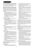 BlackandDecker Aspirapolv-Stick- Fv1205n - Type H2 - Instruction Manual (Polonia) - Page 5