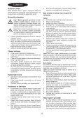 BlackandDecker Mini Vac- Orb48 - Type H1 - Instruction Manual (Turco) - Page 4
