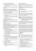 BlackandDecker Mini Vac- Orb48 - Type H1 - Instruction Manual (Turco) - Page 6