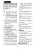 BlackandDecker Lavapavimenti A Vapore- Fsm1600 - Type 1 - 2 - Instruction Manual (Polonia) - Page 4