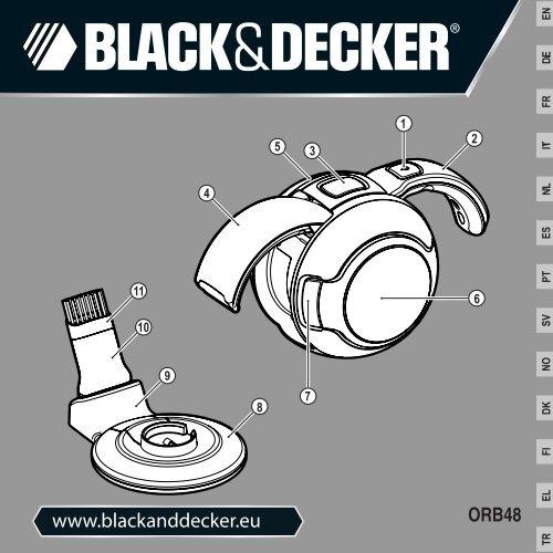 BlackandDecker Mini Vac- Orb48 - Type H1 - Instruction Manual (Europeo)