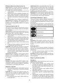 BlackandDecker Lavapavimenti A Vapore- Fsm1630bl - Type 1 - Instruction Manual (Slovacco) - Page 5