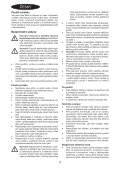 BlackandDecker Lavapavimenti A Vapore- Fsm1600 - Type 1 - 2 - Instruction Manual (Czech) - Page 4
