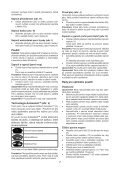 BlackandDecker Lavapavimenti A Vapore- Fsmh1621 - Type 1 - Instruction Manual (Czech) - Page 7