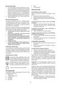 BlackandDecker Aspiratori Ricaricabili Portatili- Dv7210el - Type H1 - Instruction Manual (Ungheria) - Page 5