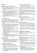 BlackandDecker Aspipolv Bagno/asciu- Wd6015n - Type H2 - Instruction Manual (Polonia) - Page 7
