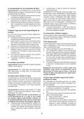 BlackandDecker Multitool- Mt18 - Type 1 - Instruction Manual (Ungheria) - Page 6