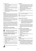 BlackandDecker Multitool- Mt18 - Type 1 - Instruction Manual (Polonia) - Page 5