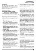 BlackandDecker Smerigliatrice Angolare Piccola- Kg701 - Type 1 - Instruction Manual (Europeo Orientale) - Page 5