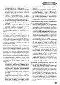 BlackandDecker Smerigliatrice Angolare Piccola- Kg701 - Type 1 - Instruction Manual (Europeo Orientale) - Page 7