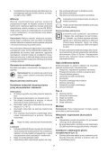 BlackandDecker Multitool- Mfl143 - Type H1 - Instruction Manual (Polonia) - Page 7