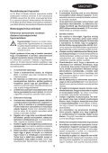 BlackandDecker Multitool- Mt143 - Type H1 - Instruction Manual (Ungheria) - Page 3