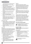 BlackandDecker Multitool- Mt143 - Type H1 - Instruction Manual (Lituania) - Page 6