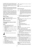 BlackandDecker Multitool- Mt143 - Type H1 - Instruction Manual (Czech) - Page 5
