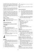 BlackandDecker Multitool- Mt143 - Type H1 - Instruction Manual (Czech) - Page 5