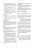 BlackandDecker Multitool- Mt143 - Type H1 - Instruction Manual (Czech) - Page 7