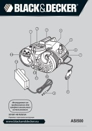 BlackandDecker Inflatore- Asi500 - Type H1 - Instruction Manual (Russia - Ucraina)