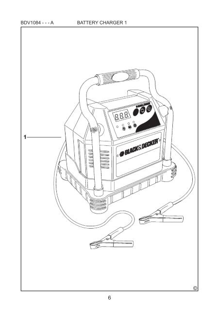 BlackandDecker Carica Batteria- Bdv1084 - Type 2 - Instruction Manual (Czech)