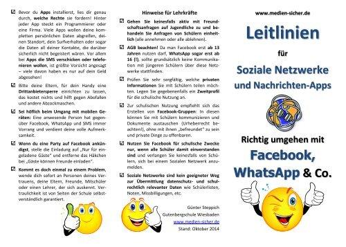 Leitlinien-fuer-soziale-Netzwerke-Flyer