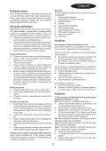BlackandDecker Aspirapolv Per Auto- Pad1200 - Type 1 - Instruction Manual (Turco) - Page 3