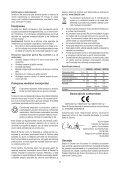 BlackandDecker Trasformatore- Bdpc750 - Type 1 - Instruction Manual (Romania) - Page 7