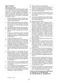 BlackandDecker Torcia Elettrica- Bdbb214 - Type 1 - Instruction Manual (Polonia) - Page 6