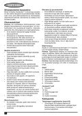 BlackandDecker Aspirapolv Per Auto- Pav1205 - Type 1 - Instruction Manual (Europeo Orientale) - Page 6