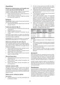BlackandDecker Cacciavite- Kc460ln - Type H1 - Instruction Manual (Romania) - Page 6