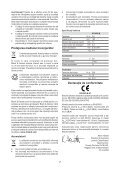 BlackandDecker Cacciavite- Kc460ln - Type H1 - Instruction Manual (Romania) - Page 7