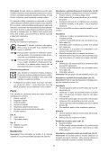 BlackandDecker Lima Elettrica- Ka902e - Type 1 - Instruction Manual (Slovacco) - Page 7