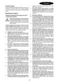 BlackandDecker Trapano Percussione- Egbl148 - Type H1 - Instruction Manual (Czech) - Page 3