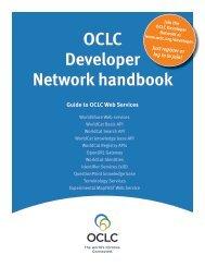 OCLC Developer Network handbook