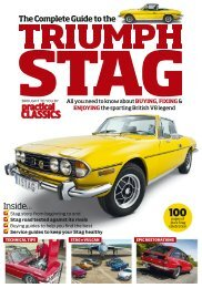 Practical Classics Guide to the Triumph Stag Bookazine