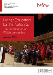 Higher Education for the Nation 2