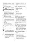 BlackandDecker Trapano Senza Cavo- Epc186 - Type H1 - Instruction Manual (Czech) - Page 6
