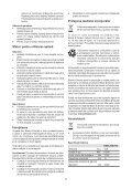 BlackandDecker Trapano Senza Cavo- Egbl108 - Type H1 - Instruction Manual (Romania) - Page 7