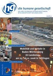 hg informiert - Junge Union Baden-Württemberg