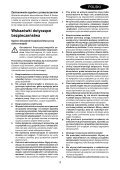 BlackandDecker Trapano Percussione- Egbl148 - Type H1 - Instruction Manual (Polonia) - Page 3