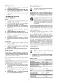 BlackandDecker Trapano Senza Cavo- Egbl108 - Type H1 - Instruction Manual (Ungheria) - Page 7