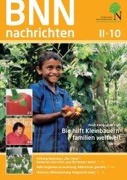 Bio hilft Kleinbauern- familien weltweit - BNN Herstellung und ...