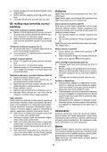 BlackandDecker Trapano Percussione- Kr604cres - Type 2 - Instruction Manual (Turco) - Page 6