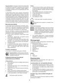 BlackandDecker Trapano Senza Cavo- Hp146f4lbk - Type H3 - Instruction Manual (Ungheria) - Page 5