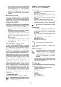 BlackandDecker Trap/caccvt Sen Cavo- Hpl106 - Type H1 - Instruction Manual (Ungheria) - Page 5