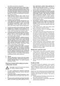 BlackandDecker Trap/caccvt Sen Cavo- Hpl106 - Type H1 - Instruction Manual (Slovacco) - Page 4