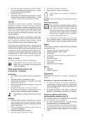 BlackandDecker Trap/caccvt Sen Cavo- Hpl106 - Type H1 - Instruction Manual (Slovacco) - Page 5