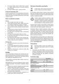 BlackandDecker Trap/caccvt Sen Cavo- Hpl106 - Type H1 - Instruction Manual (Slovacco) - Page 7