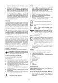 BlackandDecker Trapano Senza Cavo- Epl148 - Type H1 - Instruction Manual (Ungheria) - Page 6