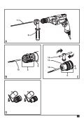 BlackandDecker Trapano Percussione- Kr803 - Type 1 - Instruction Manual (Europeo) - Page 3